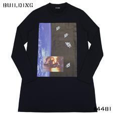 RAF SIMONS_LONG SWEAT_NAVY