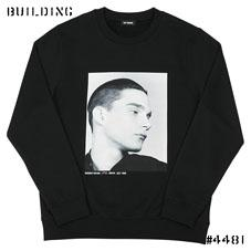 RAF SIMONS ISOLATED HEROES CAPSULE COLLECTION_CREW NECK SWEAT [STEVIE]_BLACK