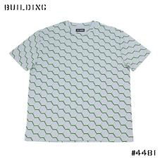 RAF SIMONS_FENCE TEE_GRAY×GREEN
