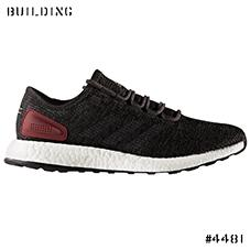 adidas_PURE BOOST_BLACK×GRAY×BURGUNDY