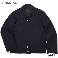 MACKINTOSH 0002_ROUND SHOULDER JACKET_NAVY