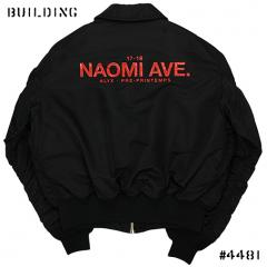 ALYX×ALPHA INDUSTRIES_NAOMI AVE. CWU-45P JACKET_BLACK
