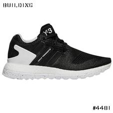 Y-3_PURE BOOST ZG KNIT_BLACK×BLACK