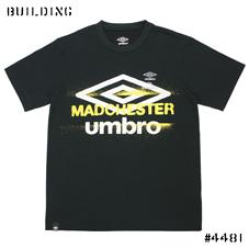 UMBRO×ILA.×ELIMINATOR_LOGO TEE SHIRT_BLACK