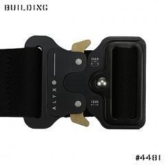 ALYX_JAQUARD BELT_BLACK