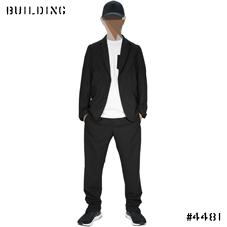 TIM COPPENS_WOOL JOGGER PANTS_BLACK