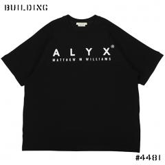 ALYX_BASE BALL TEE SHIRT_BLACK