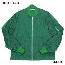 JOHN LAWRENCE SULLIVAN_NYLON MA-1 JACKET_GREEN