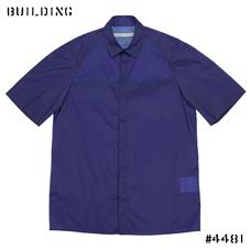 JOHN LAWRENCE SULLIVAN_NYLON SHIRT_BLUE