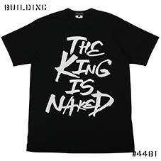 COMME des GARCONS HOMME PLUS_THE KING IS NAKED TEE_BLACK