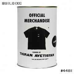 TIGRAN AVETISYAN_LABELLED TEE SHIRT_BLACK