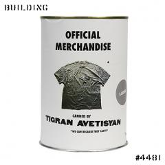 TIGRAN AVETISYAN_LABELLED TEE SHIRT_GREY