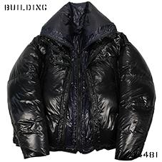 RAF SIMONS_DOUBLE DOWNFILLED BLOUSON_BLACK×NAVY