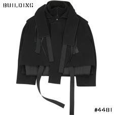 CRAIG GREEN_WOOL BLOUSON_BLACK