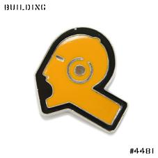 RAF SIMONS_PIN BADGE [SCREAM]_ORANGE