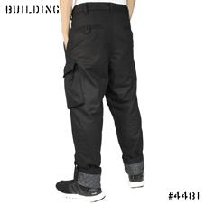 Y-3_INSULATED ROLL UP PANTS_BLACK