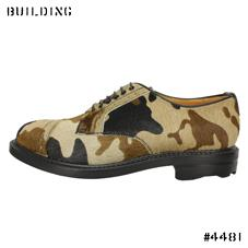 KIDS LOVE GAITE_CAMOUFLAGE SHOES_BEIGE×BROWN×BLACK