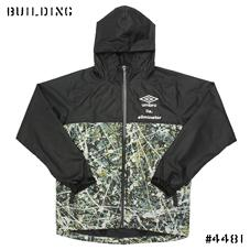 UMBRO×ILA.×ELIMINATOR_DRIPPING SHOWER JACKET_BLACK