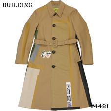 RAF SIMONS / STERLING RUBY_LIMITED EDITION SINGLE TRENCH COAT_BEIGE