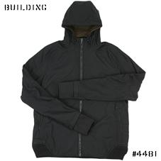 MAHARISHI_INTEGRATED HOODED JACKET_BLACK