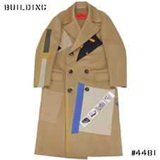 RAF SIMONS / STERLING RUBY_DOUBLE CHEST COAT_CAMEL