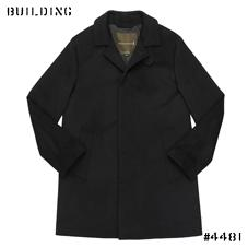 "MACKINTOSH_SOUTIEN COLLAR COAT ""DUNOON"" MODEL_BLACK"