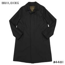"MACKINTOSH_SOUTIEN COLLAR COAT""DUNKELD""MODEL_BLACK"