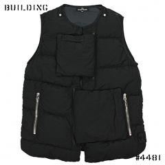 STONE ISLAND SHADOW PROJECT_DOWN VEST_BLACK
