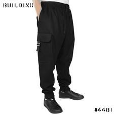 Y-3_BUCKLE PANTS_BLACK