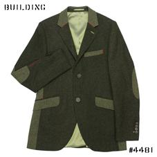 HOLLAND ESQUIRE ELIMINATOR EXCLUSIVE CUSTOM_PANEL MIX JACKET_OLIVE