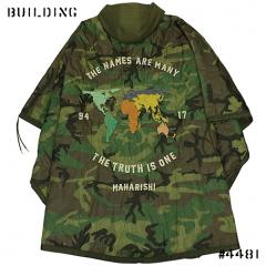 MAHARISHI_MAHA WORLD TOUR PONCHO_CAMO