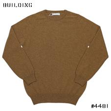 JOHNSTONS_CASHMERE CREW NECK KNIT_CAMEL
