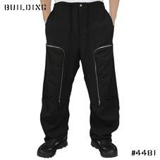 TIM COPPENS_ZIP PANTS_BLACK