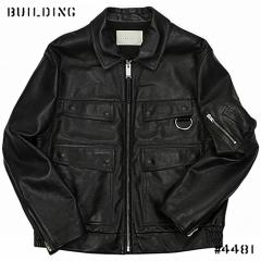 ALYX_LEATHER POLICE JACKET_BLACK