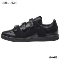 adidas by RAF SIMONS_STAN SMITH CF with BADGE_BLACK