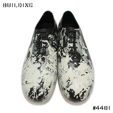 NAO YOKOO_KARIBAKI SHOES CUSTOMIZED BY ila._BLACK×WHITE
