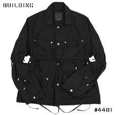 CRAIG GREEN_WORKWEAR JACKET_BLACK