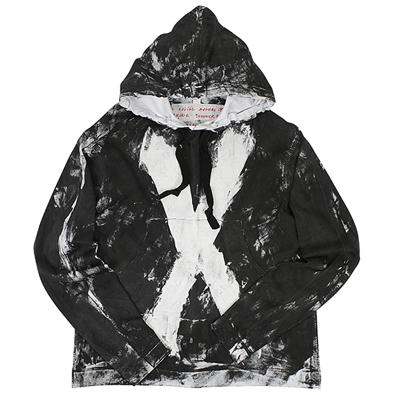 TIGRAN AVETISYAN_PAINTED X PARKA [ ELIMINATOR SPECIAL ver.]_BLACK