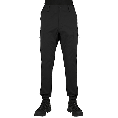 BLK WHITE MOUNTAINEERING SOLOTEX TWILLED TECH CARGO JOGER PANT BLACK