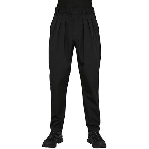 BLK WHITE MOUNTAINEERING 3 TUCKED EASY PANT BLACK