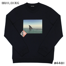 RAF SIMONS_SHARK SWEAT_NAVY
