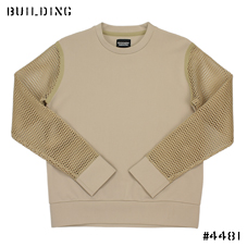 CHRISTOPHER RAEBURN_MESH SWEAT_BEIGE