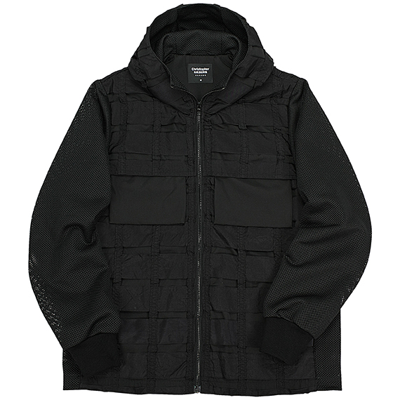 CHRISTOPHER RAEBURN_REMADE AIRBREAK ZIP ANORAK_BLACK