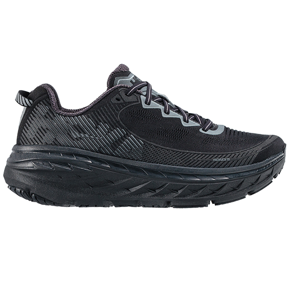 HOKA ONE ONE_BONDI 5_BLACK