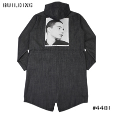 RAF SIMONS ISOLATED HEROES CAPSULE COLLECTION_MOD'S COAT [STEVIE]_INDIGO