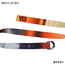 Y-3×PETER SAVILLE_GRAPHIC BELT_MIX