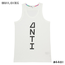 Y-3×PETER SAVILLE_ANTI TANK TOP_WHITE