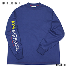 ALYX_NEW HAPPINESS L/S TEE_BLUE