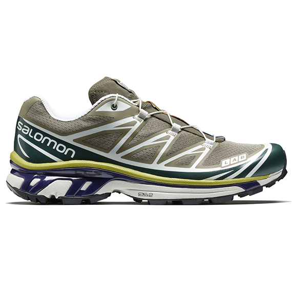 SALOMON ADVANCED_19SS XT-6_KHAKI×GREEN