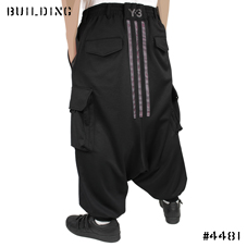Y-3_WIDE PANTS_BLACK